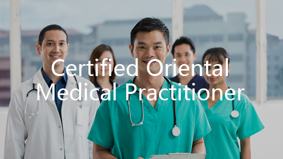 Certified Oriental Medical Practitioner